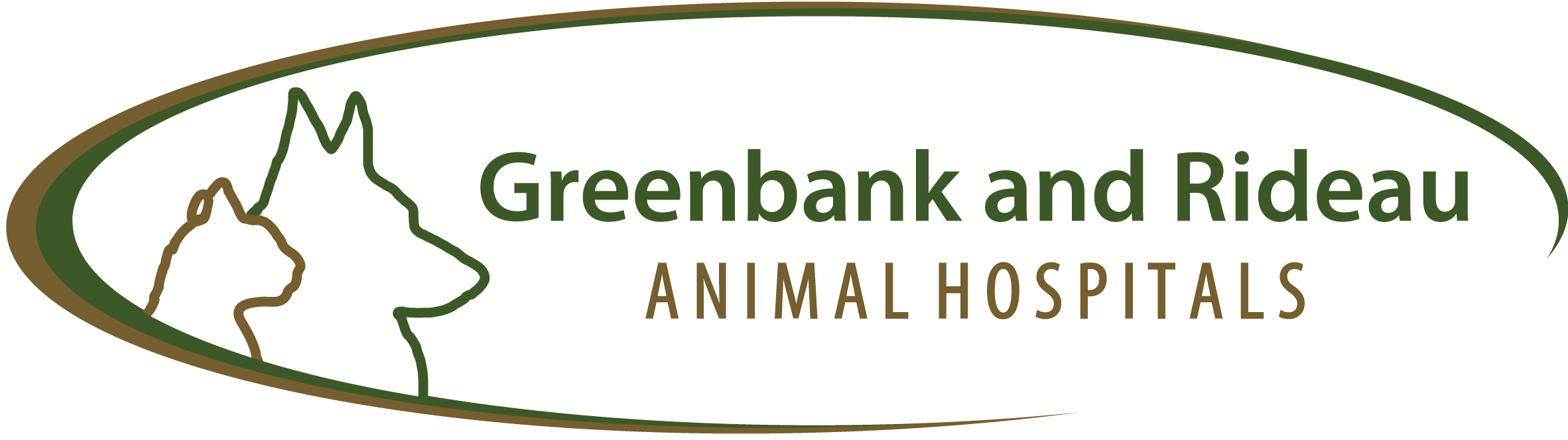 Greenbank & Rideau Animal Hospitals Logo